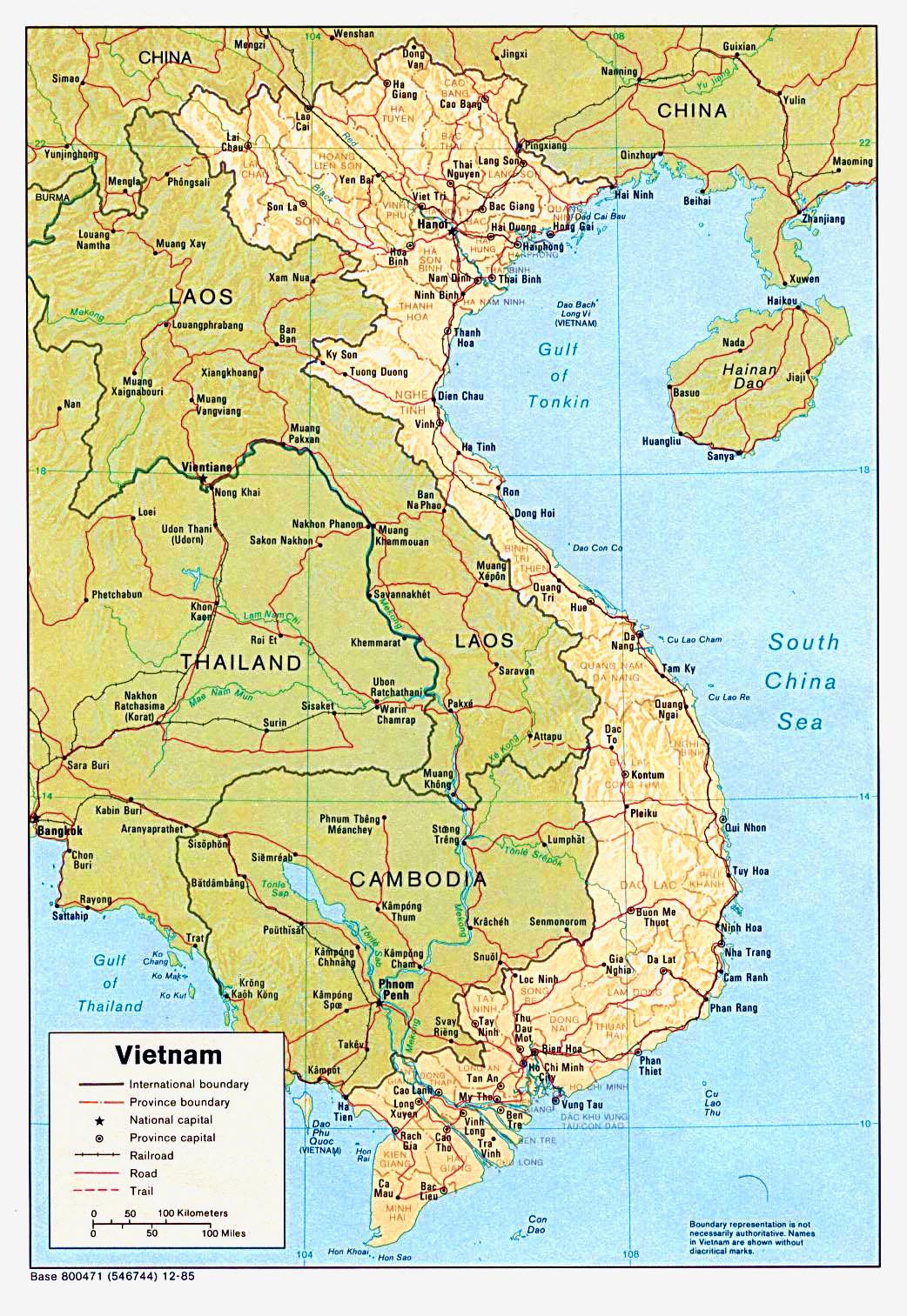 越南河内地图